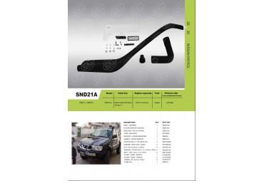 Snorkel pour Nissan Navara D21