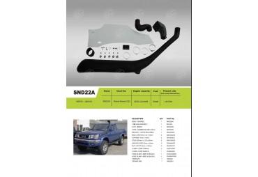 Snorkel pour Nissan Navara D22 diesel