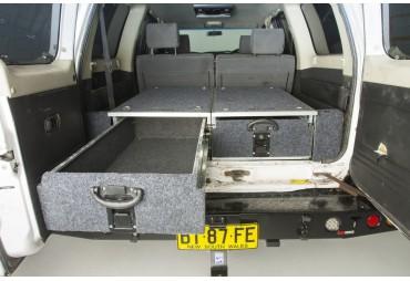 Encadrement passage de roue pour Nissan Patrol Y61