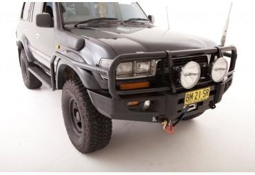 Premium steel bullbar Toyota 80 series