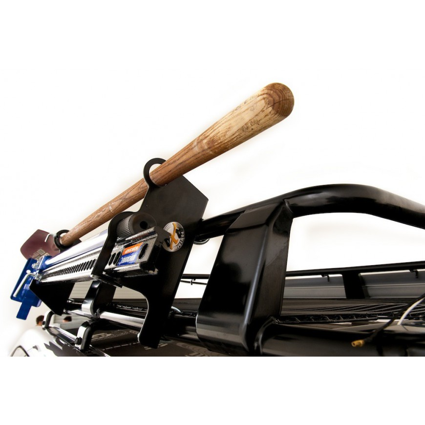 support pour hi lift et pelle fixer sur galerie de toit acier accessoires4x4 ch. Black Bedroom Furniture Sets. Home Design Ideas