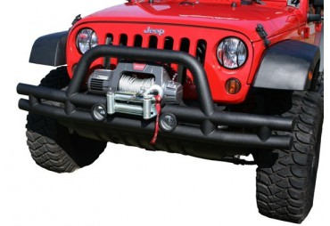 Pare-choc avant tubulaire 3'', ''Winch Mount'' Jeep Wrangler 07-16
