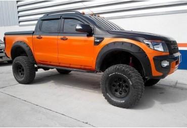 Kit élargisseurs d'aile Ford ranger (2012 - ) Double cab