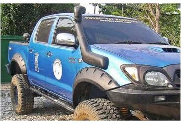 Kit élargisseurs d'aile Toyota Hilux  (2005 - 2013 ) Double cab
