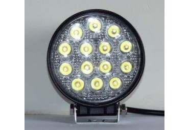 Phare de travaille ronde 42 W 14led