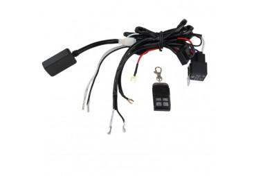 Câblage avec telecommande sans file pour une barre a led