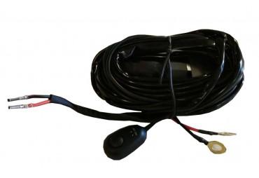 Câblage électrique pour 1 barre à leds