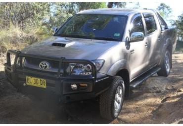 Marche pied acier Rock Armor Toyota pick up Hliux à partir de 2005