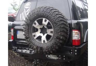 Double porte roue pour Nissan Patrol