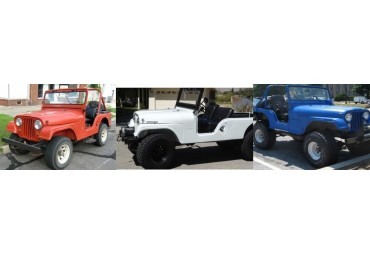 JEEP CJ5 – CJ6 – CJ7  1972 -1986
