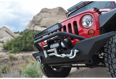 HAMMER FORGED FRONT BUMPER JEEP WRANGLER