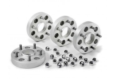 Hub centring lip wheel spacers alloy includes Pre-Installed Wheel Studs, Lug Nuts