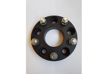 Steel wheel spacer