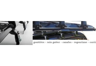 RAIN GUTTER  STEEL MESH ROOF RACK
