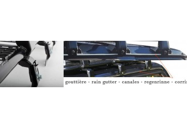 RAIN GUTTER  - STEEL ROOF BASKETS