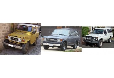 Toyota land cruiser serie 4 / 6 / 7