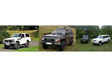 Nissan Patrol & GR K160-260-Y60-/61