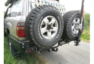 Rear Bumper - Wheel Carriers - Jerry can Carriers made in Europe